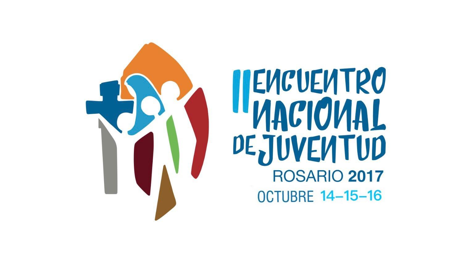 """En octubre de 2017, la ciudad de Rosario (Santa Fe), será sede del II Encuentro Nacional de Juventud (ENJ), organizado por la Pastoral Nacional de Juventud. Con el lema """"Con Vos renovamos la historia"""", se anhela que miles de los jóvenes de la Argentina se vuelvan a congregar, tal como lo hicieron en 1985. El II Encuentro Nacional de Juventud, organizado por la Pastoral Nacional de Juventud, se realizará los días 14, 15 y 16 de octubre de 2017, en Rosario (Santa Fe). El primero de estos encuentros juveniles se realizó en 1985, en la ciudad de Córdoba, y convocó a más de 1200.00 jóvenes de todo el país. Con esta segunda edición, se espera poder volver a congregar a miles de personas, con el objetivo de """"vivir una 'Iglesia en salida' renovando la opción preferencial por los jóvenes, saliendo a su encuentro como discípulos y misioneros"""", como invita el Proyecto de Revitalización de la Pastoral de Juventud.  También, buscará """"generar un espacio de escucha donde los jóvenes compartan su vida y su testimonio del encuentro con Cristo a los otros jóvenes"""", y """"reflexionar a la luz del Bicentenario de la Independencia de la Nación cuáles serán algunos rumbos concretos de compromiso como discípulos misioneros que podemos asumir como juventud de la Argentina"""". Según informaron los organizadores, """"el encuentro se realizará el fin de semana largo de octubre de 2017, los días 14, 15 y 16"""", con el lema """"Con vos, renovamos la historia"""", que estará representado también en el logo oficial."""